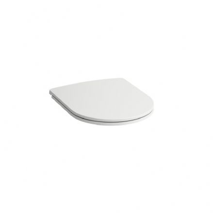 898966 - Laufen Pro Slim WC / Toilet Seat & Cover with Soft Close Mechanism - 8.9896.6